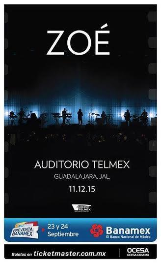 Zoe Auditorio Telmex