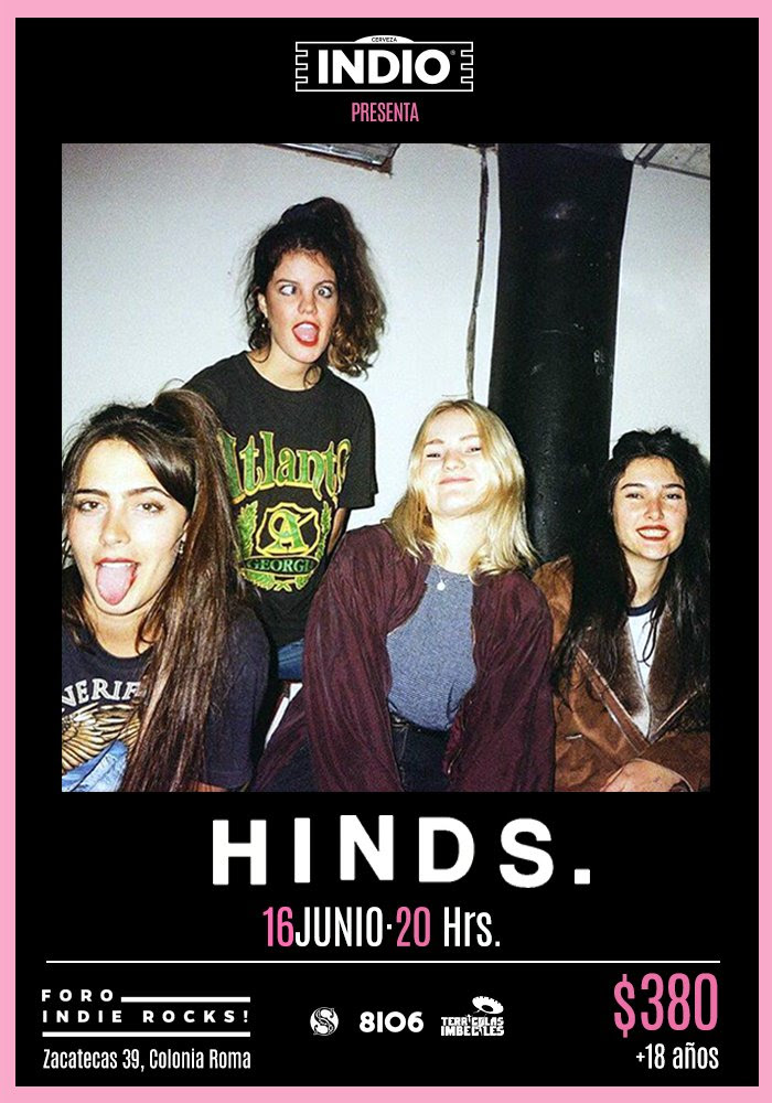 Hinds Foro Indie Rocks