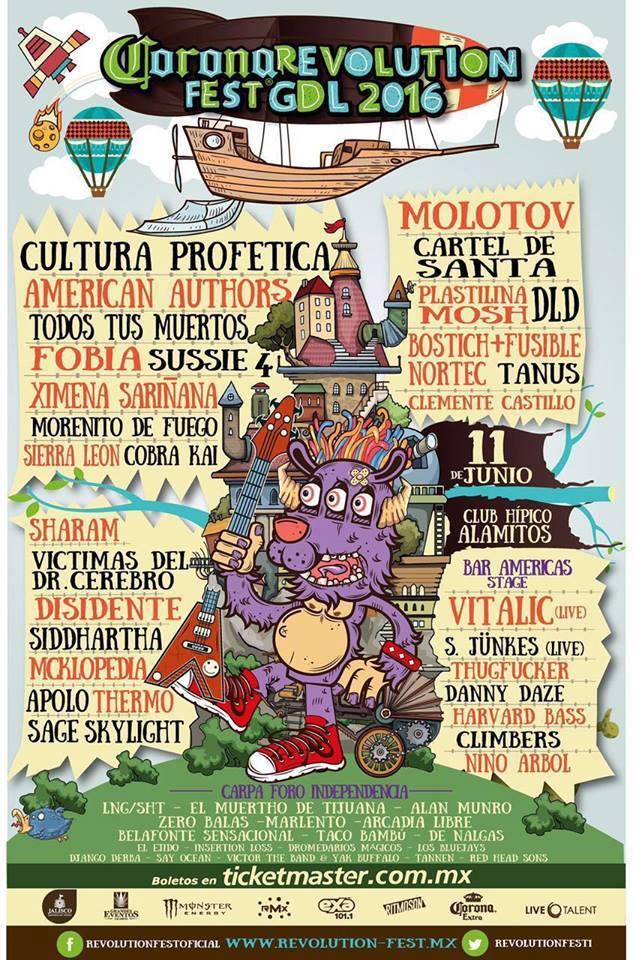 Revolution Fest 2016 GDL Cartel