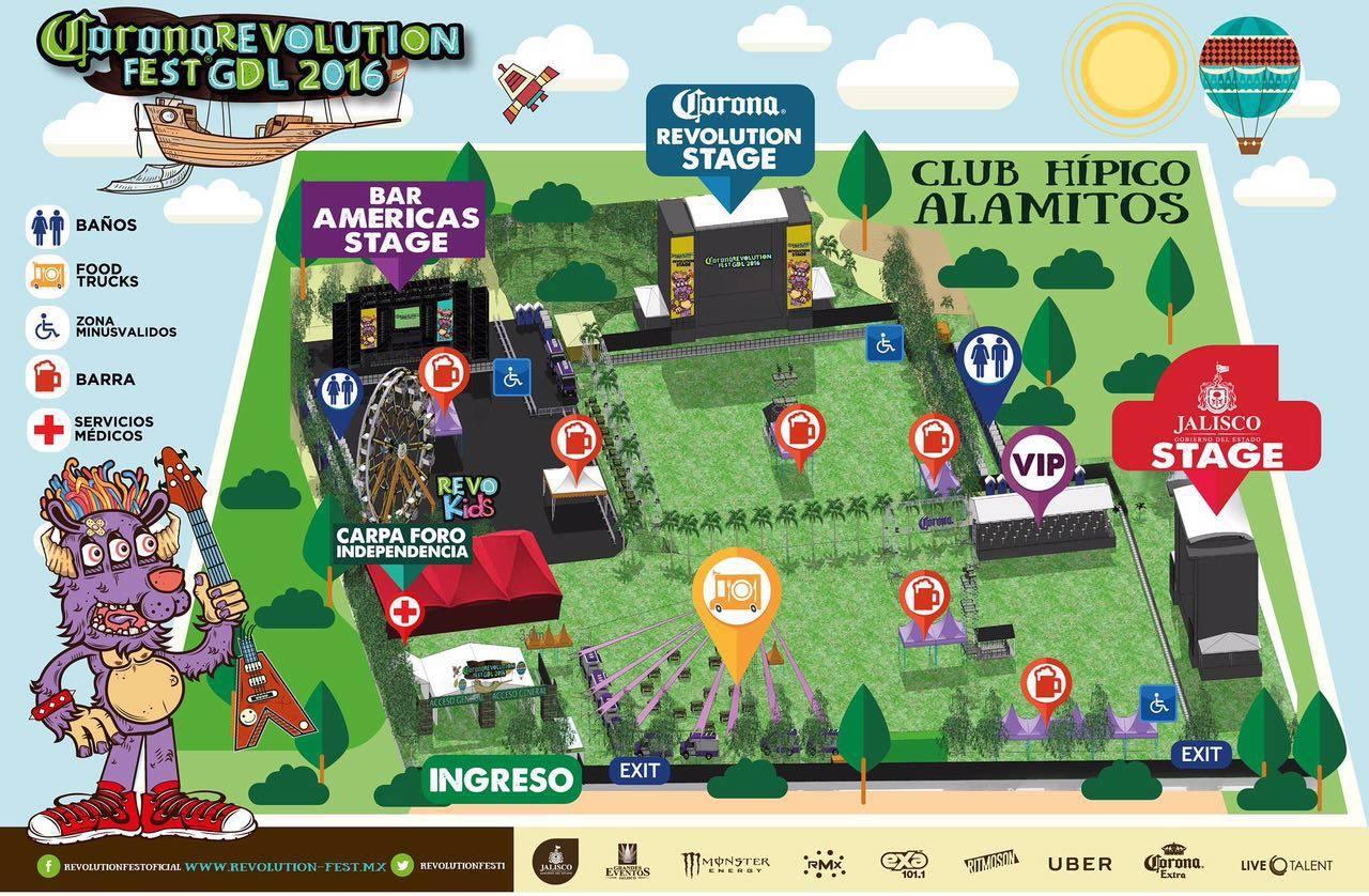 Revolution Fest 2016 GDL Plano