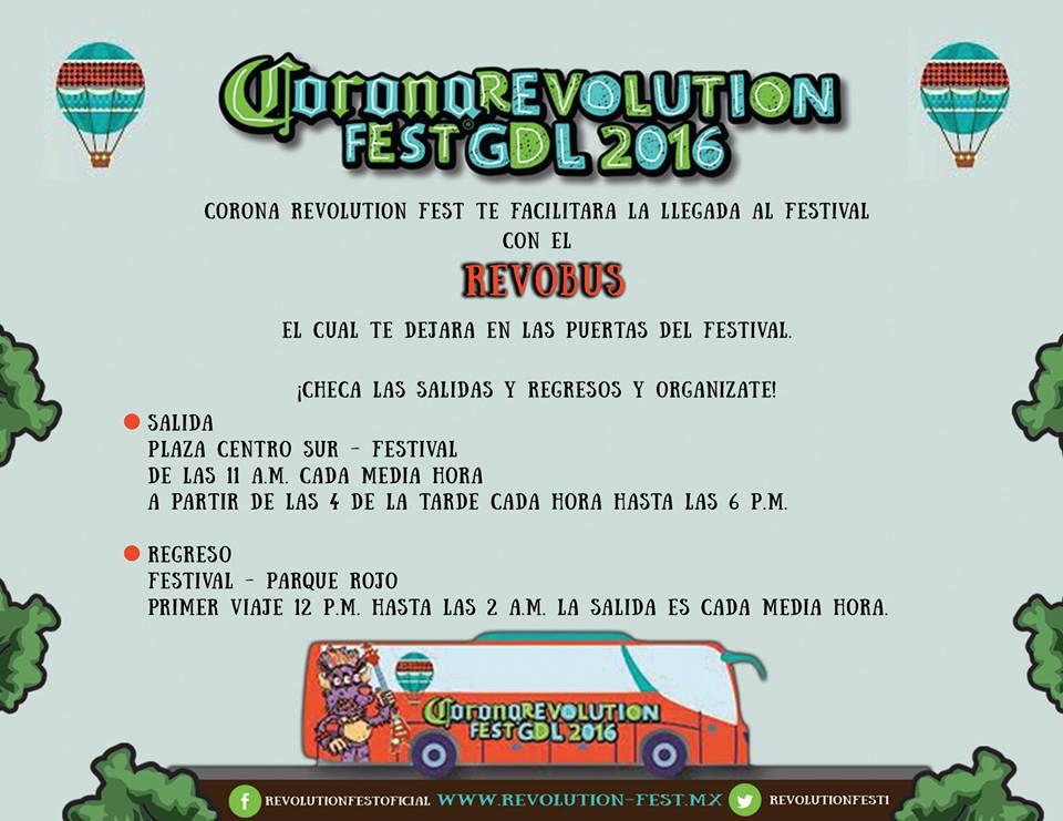Revolution Fest 2016 GDL RevoBus