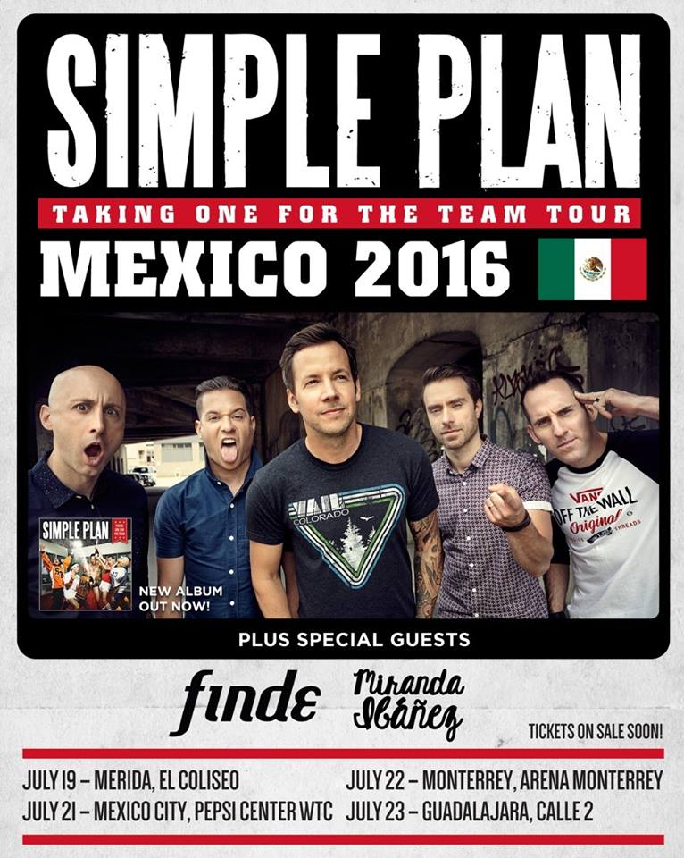 Simple Plan Guadalajara Calle 2